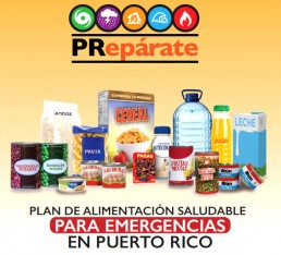 PLAN DE ALIMENTACION SALUDABLE PARA EMERGENCIAS